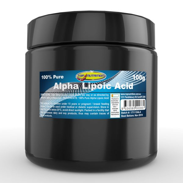 Top Nutrition Alpha Lipoic Acid (ALA) 100g