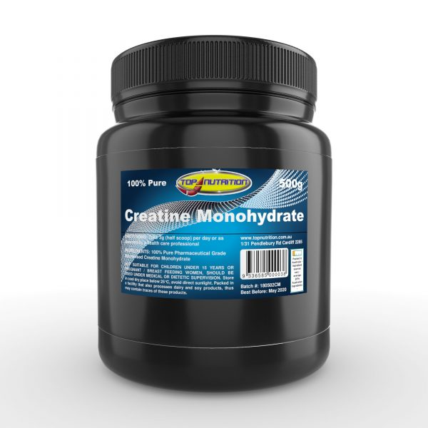 Top Nutrition Micronised Creatine Monohydrate 500g