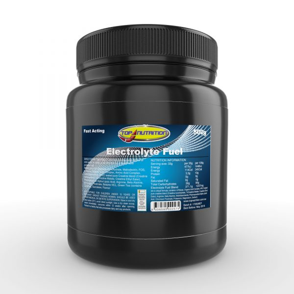 Top Nutrition Electrolyte Fuel 500g
