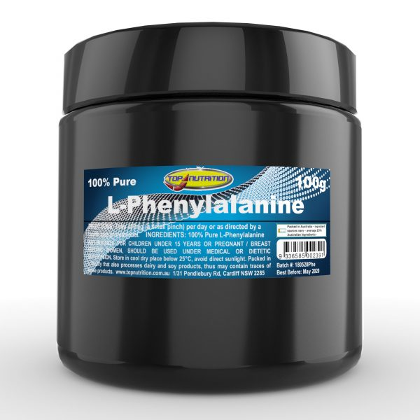 Top Nutrition L-Phenylalanine 100g
