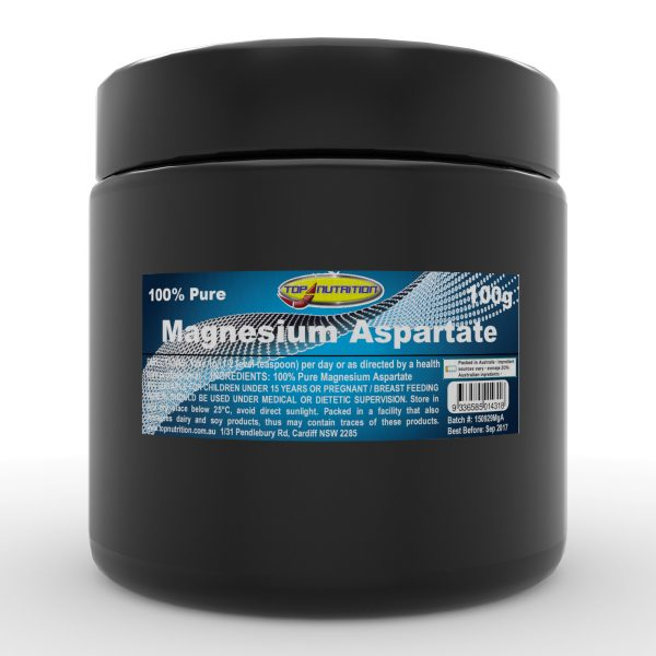 Top Nutrition Magnesium Aspartate 100g