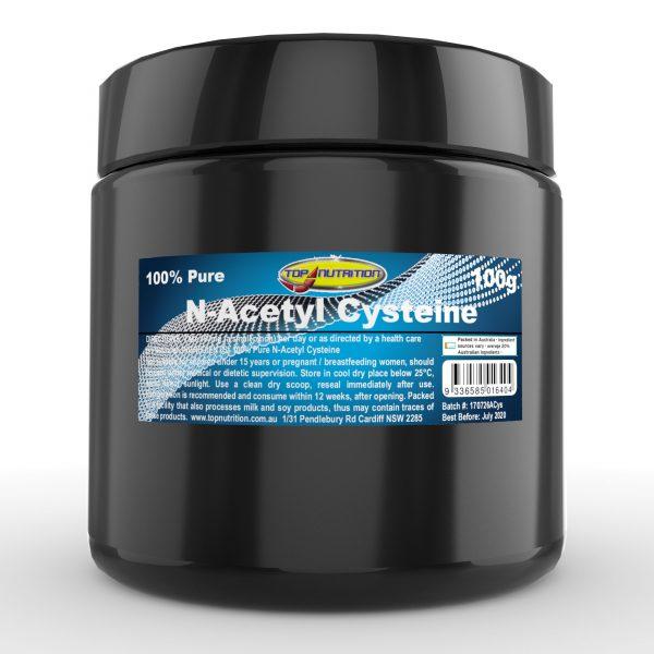 Top Nutrition N-Acetyl Cysteine 100g