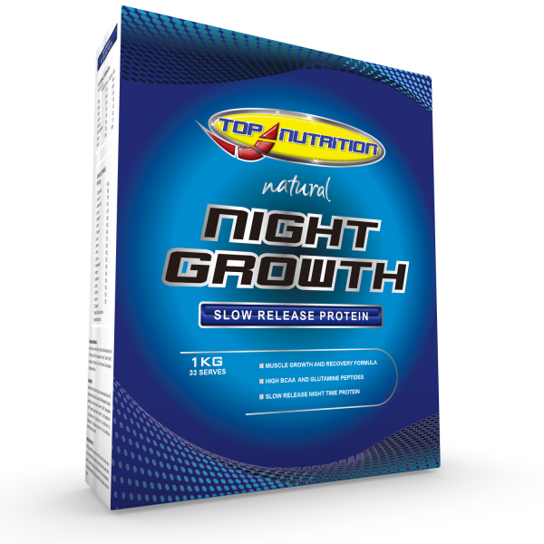 Top Nutrition Night Growth Slow Release Protein 1kg