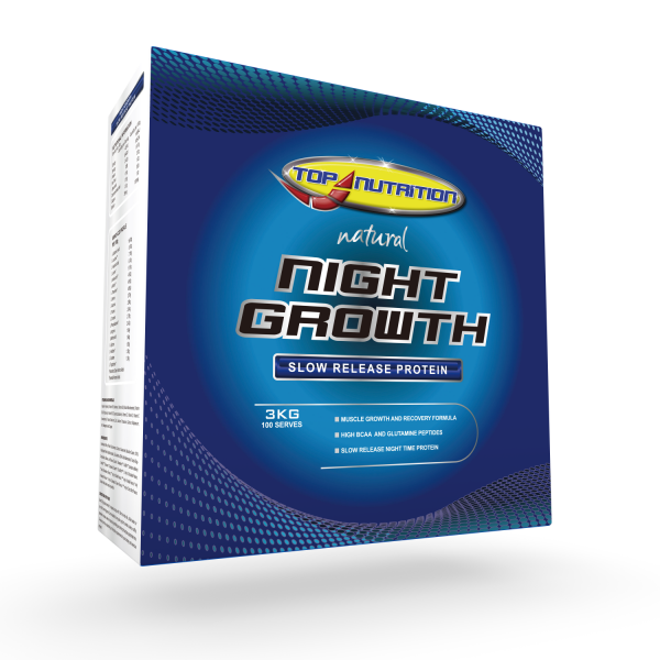 Top Nutrition Night Growth Slow Release Protein 3kg