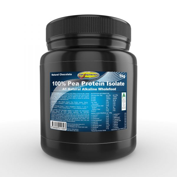 Top Nutrition Pea Protein Isolate 1kg