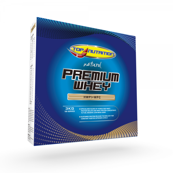 Top Nutrition Natural Premium Whey Protein 3kg