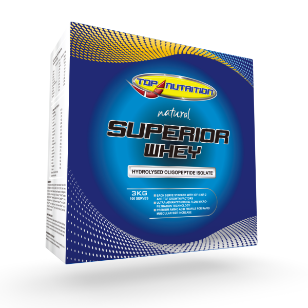 Top Nutrition Superior Whey Protein 3kg