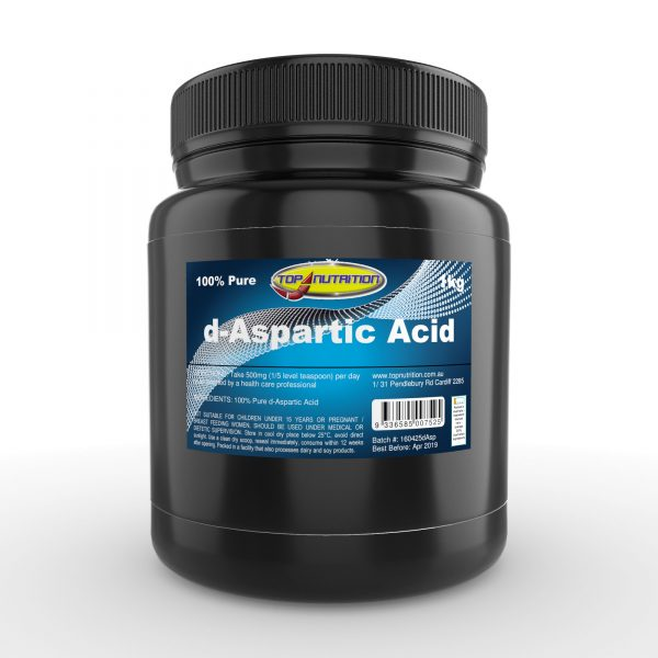 Top Nutrition d-Aspartic Acid 1kg