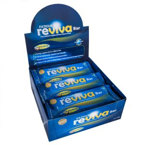 Top Nutrition Fatigue Reviva Protein Bar Box of 12